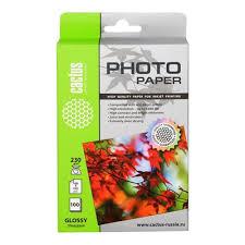 <b>Фотобумага Cactus CS-GA6230100</b> 10x15/230г/м2/100л./белый ...