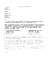 nih cover letter summer internship internship cover letter sample example of cover letter for internships summer internship cover letter