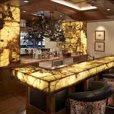 onyx bar top bar top lighting