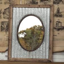 mirror frame ideas oval