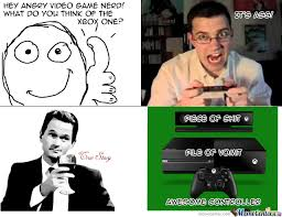 What Does The Angry Video Game Nerd Think Of The Xbox One? by ... via Relatably.com