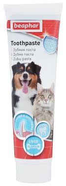<b>Зубная паста</b> Beaphar для <b>собак</b> и кошек со вкусом печени 100 г ...