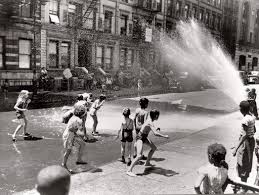 Image result for chicago kids of the 1960's in fire hydrant water