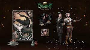 <b>Happy Birthday</b> Ciri and Yen! - GWENT: The Witcher Card Game