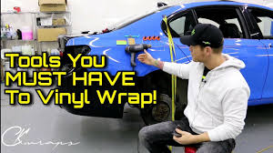 Must Have <b>Vinyl Wrap Tools</b>   A LIST OF NECESSARY WRAP ...