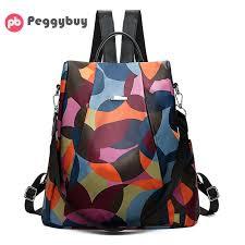 New <b>Backpack Women</b> Oxford Multifuction <b>Bagpack Famous</b> Brand ...