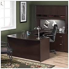 bush furniture corsa series home office right facing u shape computer desk set in bush home office furniture