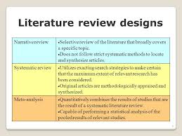 Systematic Literature Review How To Do A Literature Review