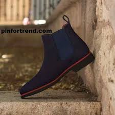 <b>Custom Made</b> Chelsea Boot Classic in <b>Navy Blue</b> You Must Love To ...