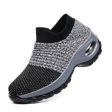 China <b>Women Flying Knit Breathable</b> Lightweight Air Cushioned ...