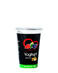 Bio Yoghurt with Real <b>Tropical Mix</b>