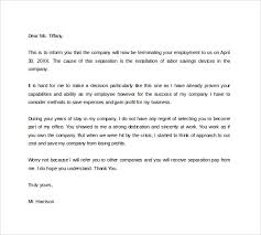 termination letter for employee early lease termination letter template