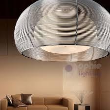Lampadario <b>plafoniera lampada</b> soffitto design moderno acciaio ...