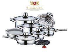 IBOS 9-piece ACpower Supreme <b>Stainless Steel</b> Cookware Set ...