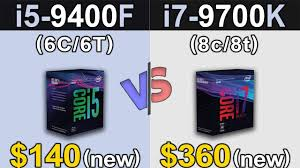 <b>i5</b>-<b>9400F</b> Vs. i7-9700K   1080p and 1440p Benchmarks - YouTube
