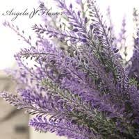 <b>1pcs</b> Romantic Provence decoration <b>lavender</b> flower <b>silk artificial</b> ...