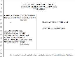 staffing agency allegedly causes fcra class action lawsuit staffing agency allegedly causes fcra class action lawsuit against major online retailer