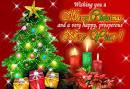 Поздравительная открытка на новый год на английском