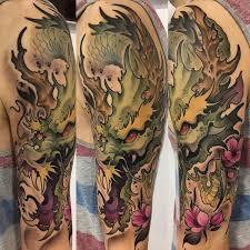Значение <b>татуировки дракон</b> (фото), что значит <b>тату дракон</b>
