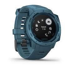 Прочные GPS-часы <b>Garmin Instinct</b> Lakeside <b>Blue</b>
