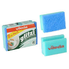 <b>Губка</b> для посуды <b>Glitzi Vileda</b> 2 шт купить недорого в интернет ...