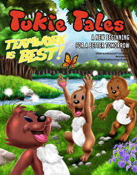 tukie tales a new beginning for a better tomorrow home jake and amy learn the advantages of teamwork and cooperation during a family trip by watching the family the tukies also learn about the benefits and