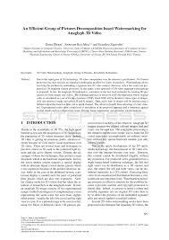(PDF) An Efficient Group of Pictures Decomposition based ...
