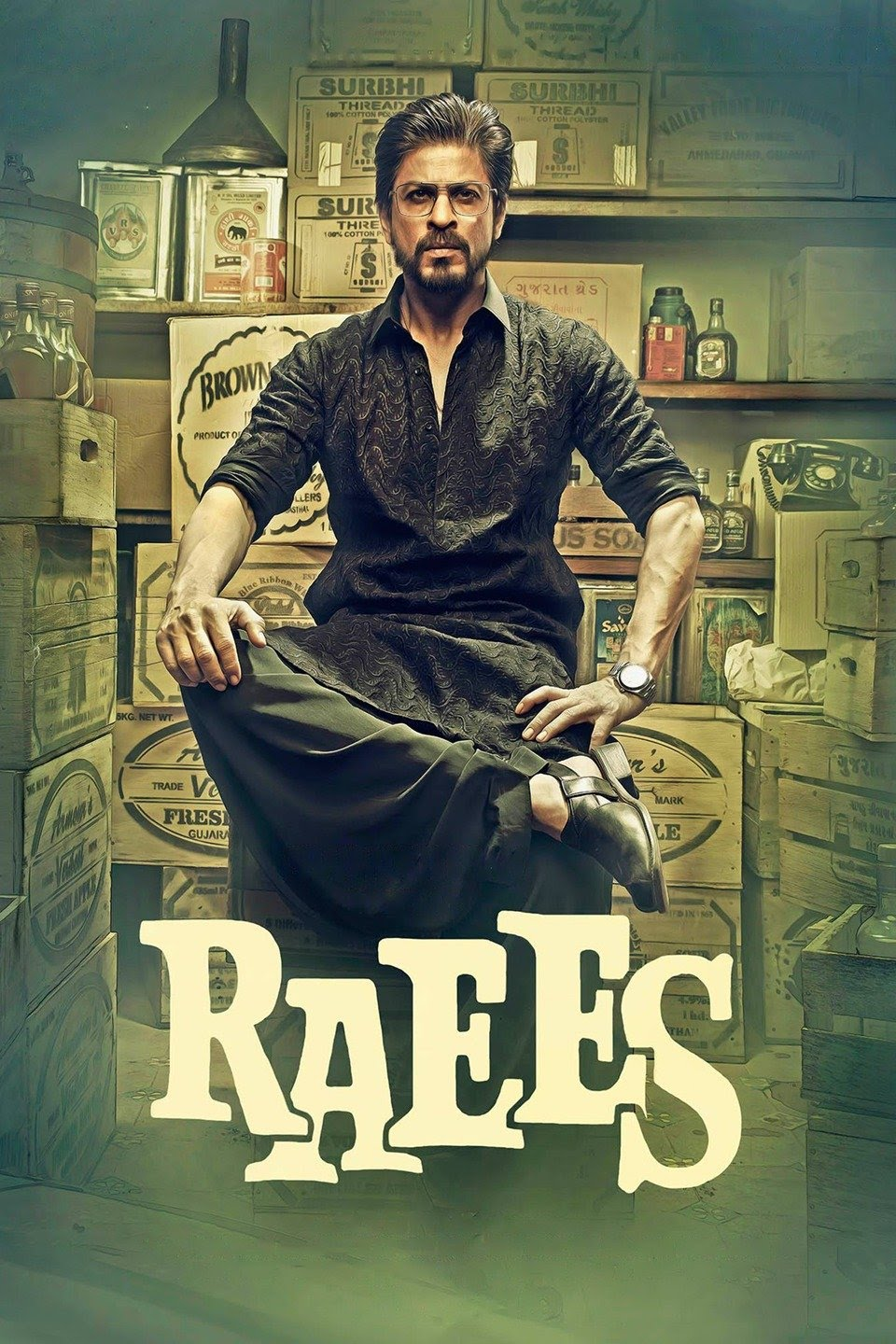 Raees (2017) 1080p BluRay x265 HEVC 10bit AAC – [Walter]