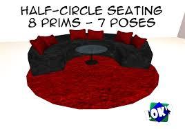 loks half circle seating blackred low prim furniture c087b030cad07b484513de1e0a2c9f54 190895633ab8050ecacf2f6413f9975d black and red furniture