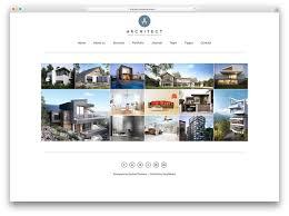 30 awesome wordpress portfolio themes to showcase your work 2017 architect minimal portfolio website template