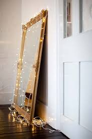 string light diy ideas for cool home decor vintage mirror christmas light are fun for bedroom lighting ideas christmas lights ikea