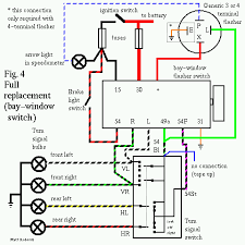 vw 9 prong box troubleshooting and replacement 4 Pin Flasher Relay Wiring Diagram complete 9 prong box replacment bay window switch 3 pin flasher relay wiring diagram