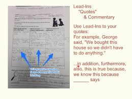 the veldt lead ins quotes commentary the veldt lead ins quotes commentary