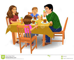 Image result for family dinner pictures