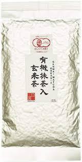 Ocha & Co. <b>Organic</b> Japanese <b>Genmaicha</b> Matcha Roasted <b>Brown</b> ...