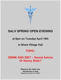 salv shere and local villages health trust open evenings 18th 2016 shere village hall a sporting chance of staying fit view flyer
