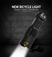 <b>Bicycle Light</b> 7 Watt 2000 Lumens 3 Mode Bike <b>Q5</b> LED cycling ...