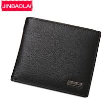 <b>JINBAOLAI</b> Short <b>Genuine Leather Men</b> Wallets Fashion Coin ...