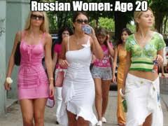 Russian Girls Age 20 Vs Age 35 | WeKnowMemes via Relatably.com