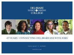 annual report by westmoreland county community college issuu presidents report 45 years of connecting delawareans jobs delaware tech
