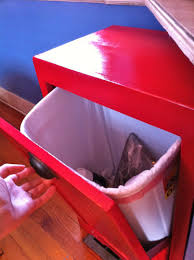Kitchen Cabinet Garbage Drawer Storage White Kitchen Island With Granite Top Shelving Units And