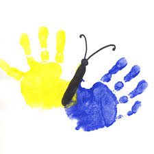 Image result for handprint art