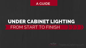 under cabinet lighting from start to finish a guide adding cabinet lighting