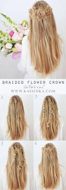 Long Hairstyles With Braids 25 Best Ideas About Braided Hairstyles On Pinterest Hair Styles