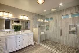 bathroom designs luxurious:  tags traditional master bathroom with salerno porcelain tile rustic cariboo series maple quotx