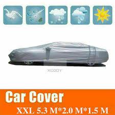 XXL Full Car Cover <b>Effectively Block</b> Sun UV Radiation Waterproof ...