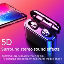 Bluetooth 5.0 Headset TWS Wireless Earphones Mini ... - Vova