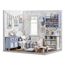 """Миниатюрный кукольный домик с мебелью - <b>Румбокс</b> TuKIIE """"DIY ..."""