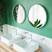 Round <b>Mirror Tiles</b> - Shop online and save up to 39% | UK ...