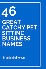 best ideas about pet sitting business pet 46 great catchy pet sitting business s